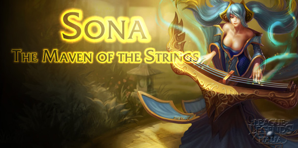Sona, The Maven of the Strings