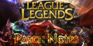 League of Legends - Patch Notes