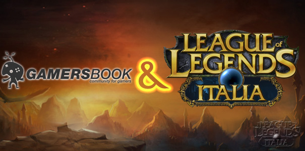 Gamersbook & League of Legends Italia