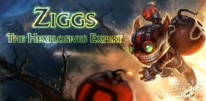 Ziggs, The Hexplosives Expert