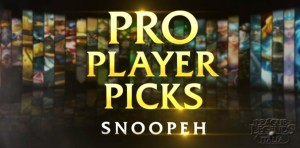 Pro Player Picks - Snoopeh