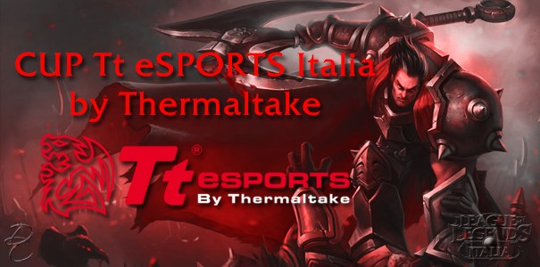 CUP Tt eSPORTS Italia by Thermaltake