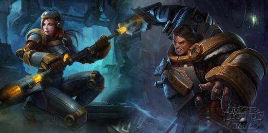 League of Legends Italia | Skin Steel Legion diponibili da ...