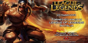 Lancio italiano di League of Legends
